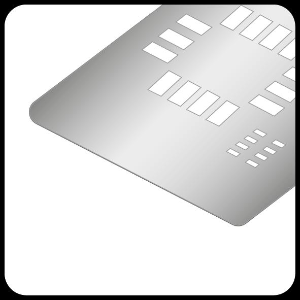 Online-Kalkulator für SMD-Schablonen ECO / PRO