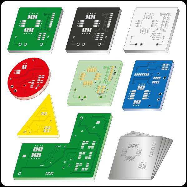 Online-Kalkulator für starre Leiterplatten 1-8 Lagen